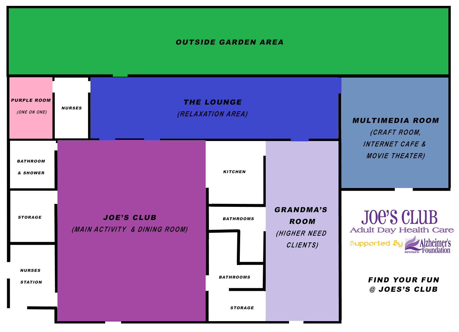 Joe's Club Floor Plan
