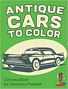 Coloring Book about antique cars